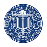 California State Bar Seal color logo
